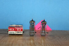 Radio Tubes 12BH7A 12BH7 RCA Faded NOS Matched PAIR