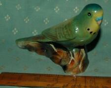 More details for porcelain budgerigar figurine k.s.p. england lustre glaze c1950s