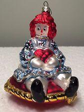 Kurt Adler Polonaise Christmas Ornament Raggedy Ann Vintage Ap 1024