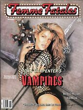 FEMME FATALES VOLUME 7 # 6 HORROR MAGAZINE JOHN CARPENTER JAMIE LEE CURTIS