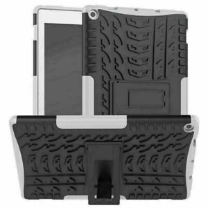 """For Amazon Kindle Fire HD 10"""" 2019 TPU Tablet Protective Case Kickstand Cover"""