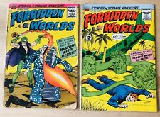Vintage 1963 ACG Forbidden Worlds Comic Book Lot