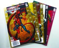 Marvel ULTIMATE SPIDER-MAN (2006) #86-90 RARE Newsstand UPC VARIANT LOT VF/NM