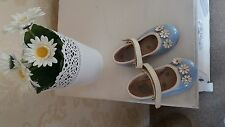 Girls Blue Shoes Size 6 (By 'True Love' Debenhams)