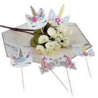 24pcs  Cupcake Toppers DIY Cake Picks Wedding Birthday Party Decor JR