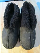 UGG Lexi UK 7.5 EU 40 US 9 100% Genuine Unisex Black Slippers / Booties