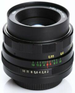 US Seller Helios 44m 58mm f2 Russian Bokeh portrait Lens DSLR M42 Mount USSR Old