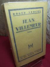JEAN VILLEMEUR Roger Vercel exemplaire a grandes marges