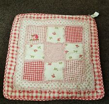 *NEW* Clayre & Eef / Milk and Honey Love & Rose Patchwork Cushion Cover 50 x 50