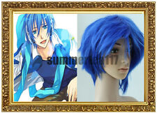 Anime Cosplay Vocaloid Kaito Blue Short Party Wig 13211300
