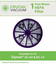 Replacement Dyson DC07 DC14 Purple Post-Motor HEPA Filter Part # 901420-02
