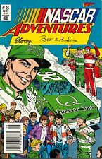 NASCAR ADVENTURES STARRING BRETT BODINE VOL 1,#8,DEC 1992,COMIC BOOK,MINT CONDIT
