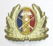 Insigne de casquette ROUMANIE - Armée de Terre