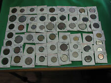 worlds coins lot 57 coins the trends $1.00 to $10.00  Mexico Jersey Finland