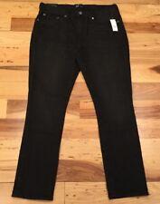 Gap Men's 34 X 30 Black-Wash Skinny Stretch Jeans. Black Denim Pants. Nwt