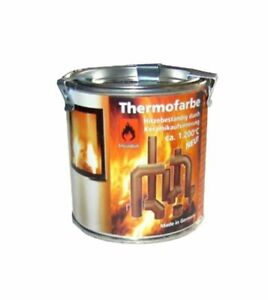 ULFALUX Thermolack Ofenlack Hitzebeständig bis 1200°C Guss Grau 1x 250ml