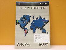 Philips 1986 / 1987 Test + Measurement Catalog, Great Condition!
