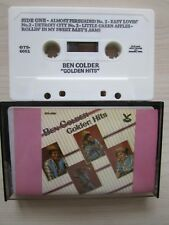 """BEN COLDER """"GOLDEN HITS"""" CASSETTE, 1979 GUSTO, RARE MADE IN USA TAPE,TESTED."""