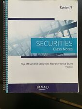 Kaplan Series 7 Securities License Exam Manual, Class notes, Options Quicksheet