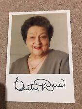 Betty Davis Bet Turpin Coronation Street Bet Signed Photo Autograph COA UACC