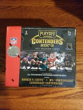 2003 PLAYOFF CONTENDERS FOOTBALL FACTORY SEALED HOBBY BOX -POLAMALU/ROMO
