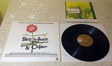 """BLESS THE BEASTS & CHILDREN (LP) """"ORIGINAL SOUNDTRACK"""" [GER A&M 85 797 IT] M-"""