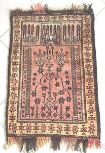 Alte Teppich Nomaden Belutsch Lebensbaum Sammlerstück Orient Baluch Rug Carpet