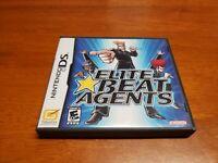 Elite Beat Agents (Nintendo DS, 2006) CIB Complete