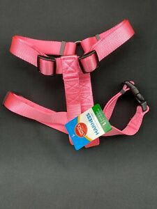 Grreat Choice Adjustable Core Dog Harness Pink Large Fits Girth 28-36 inch