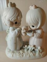 """I'm So Glad That God Has Blessed..."" 1992 Precious Moments  523623 Figurine"