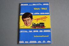 X042 FLEISCHMANN Train catalogue Ho 1964 65 21*14,7 cm  F