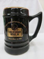 California Bowl Game Iii Collector'S Piece _ Player Appreciation Ceramic Stein