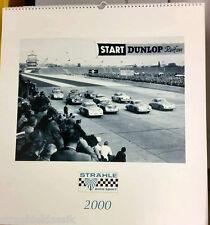 Strähle voiture sport 2000 rennkalender NEUF