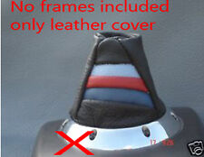 FITS BMW E46 M3 SMG GEAR GAITER SHIFT BOOT GENUINE LEATHER