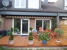 16qm Terrassendielen sibirische Lärche Bausatz Holz inkl Schrauben UK Lieferung
