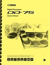 Yamaha DD-75 Digital Percussion Drum Kit OWNER'S MANUAL