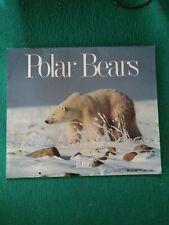 Polar Bears - Rare Firefly Books 1997 Calendar - Images Of Polar Bears