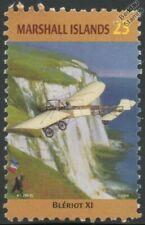 Blériot XI (Louis Bleriot) English Channel Aircraft Stamp (Marshall Islands)