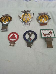 Job lot 6 car badges. Used condition