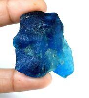 Discount Sale 424 Ct Natural Brazilian Aqua Blue Aquamarine Gemstone Rough AGSL Certified E849
