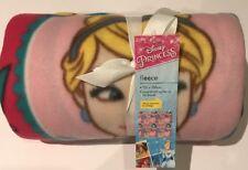 Disney Princess Fleece Blanket By George 120 X 150cm