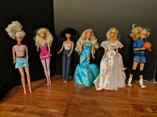 Mattel Barbie Mixed Lot - 6 Total with clothes- 1976 to 1998