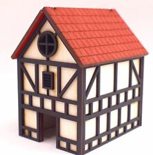 WWS Medieval Fantasy Town House Building – Wargaming Diorama Scenery Modelling