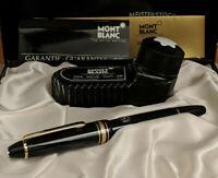 Vintage MONTBLANC Meisterstuck Medium 14K Gold Nib No 146 Fountain Pen, NOS!