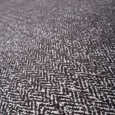 Mottled Distressed Chevron Chenille Worn LOOK Sofa Seating Upholstery Fabric