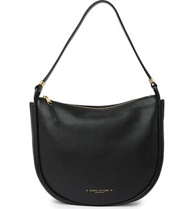 Marc Jacobs Leather Hobo Bag - Black NWT $395