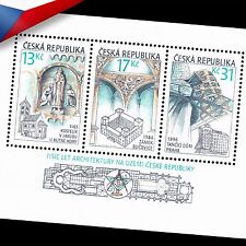 Czech Republic (2001) - 1000 Years of Architecture in the Czech Lands -Minisheet