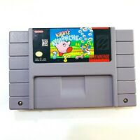 Kirby's Avalanche Super Nintendo SNES Game - Tested - Working - Authentic!