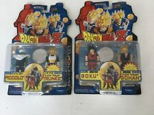 DRAGONBALL Z, LOT DE 4 figurines I-MEN COLLECTION 2002