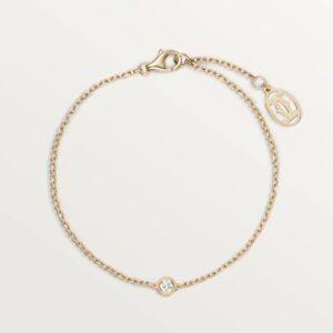 Cartier Diamants Légers Bracelet XS, Yellow Gold